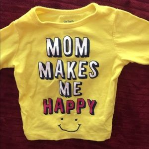 Cute Baby Yellow shirt!